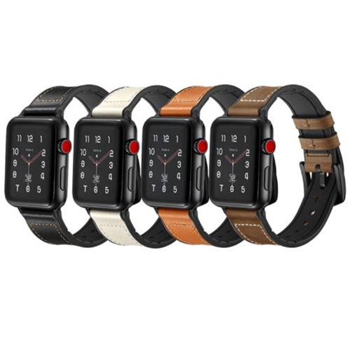 Dây đeo da Jinya Hero Leather cho Apple Watch 40 & 44mm
