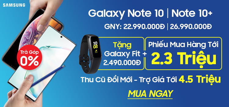 Mua ngay Samsung Galaxy Note 10 | Note 10+ tại CellphoneS
