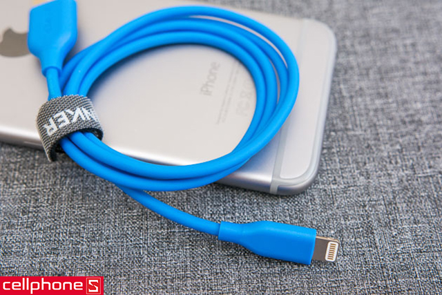 Cáp Anker PowerLine Lightning 0.9 m