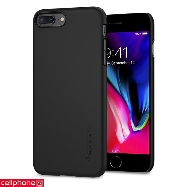 Ốp lưng cho iPhone 8 Plus - Spigen Thin Fit Case