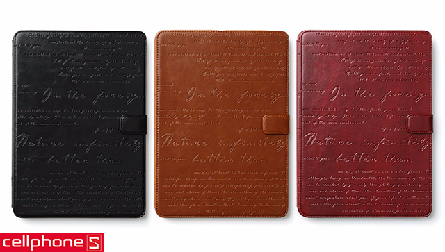 Bao da cho iPad 2 / new iPad / iPad 4 - Zenus Lettering Diary Collection