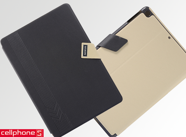 Bao da cho iPad Air - Baseus Faith Leather Case