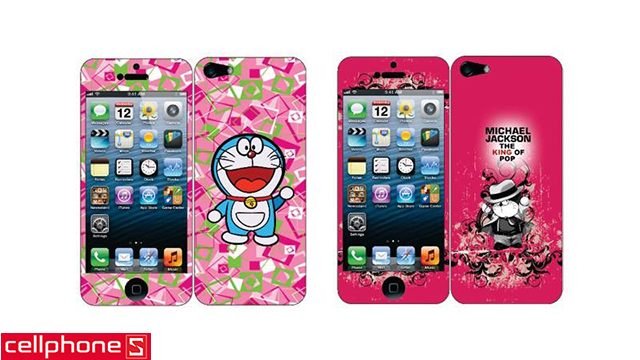 Skin cho iPhone 4 / 4S / 5