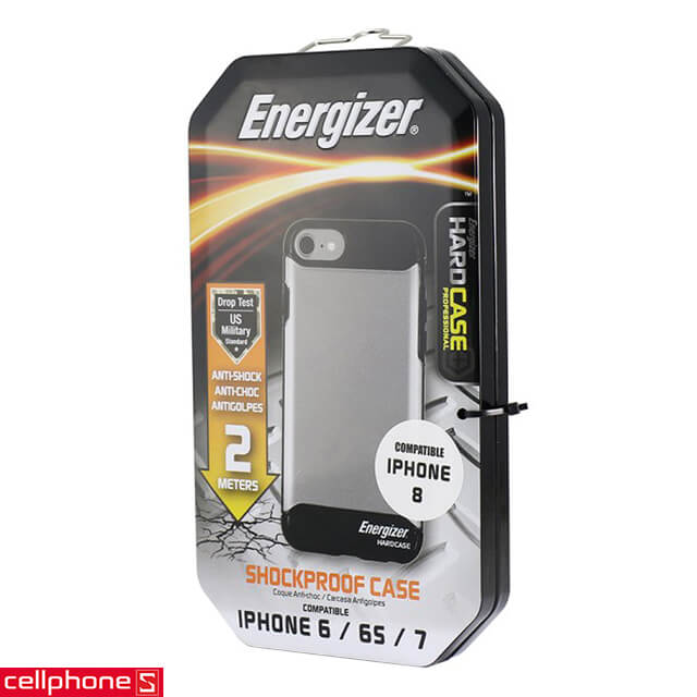 Ốp lưng cho iPhone 6 / 6S / 7 / 8 - Energizer Hard Case Professional ENCOSPIP7BK