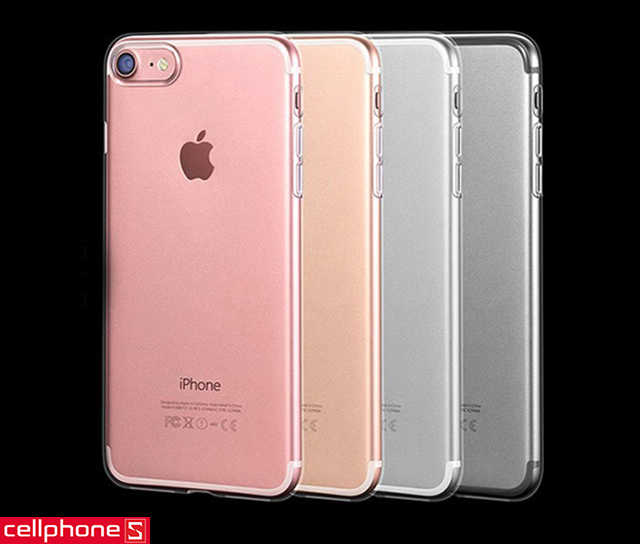 Ốp lưng cho iPhone 7 - S-Case Silicon