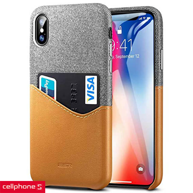 Ốp lưng cho iPhone X/XS - ESR Case Card Slot