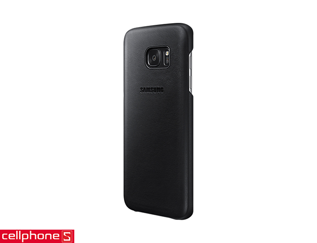 Ốp lưng cho Galaxy S7 edge - Samsung Leather Cover