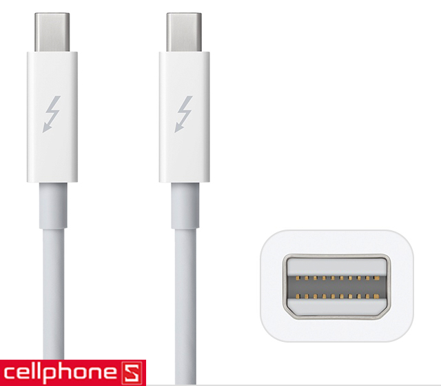 Cáp Apple Thunderbolt Cable 0.5 m MD862