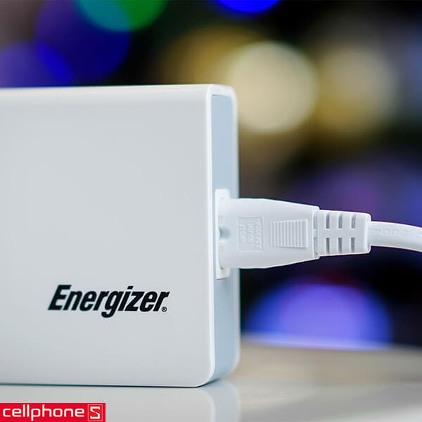 Sạc Energizer Classic Smart Multiport 5 USB Charger