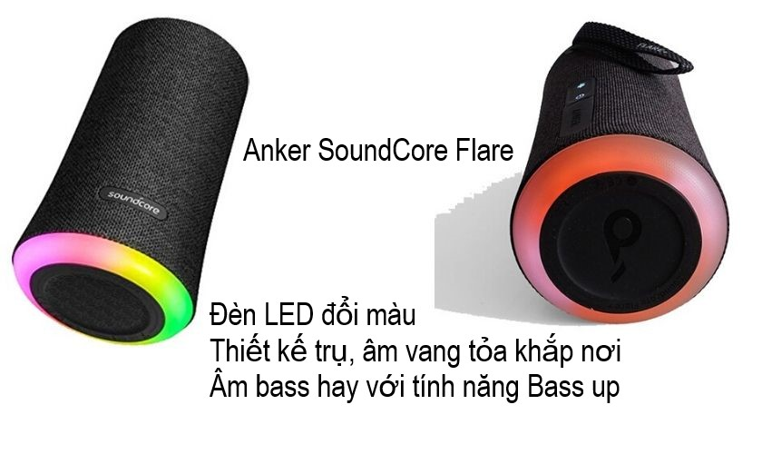 Dòng loa bluetooth Anker SoundCore Flare