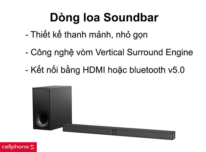 Loa sony soundbar