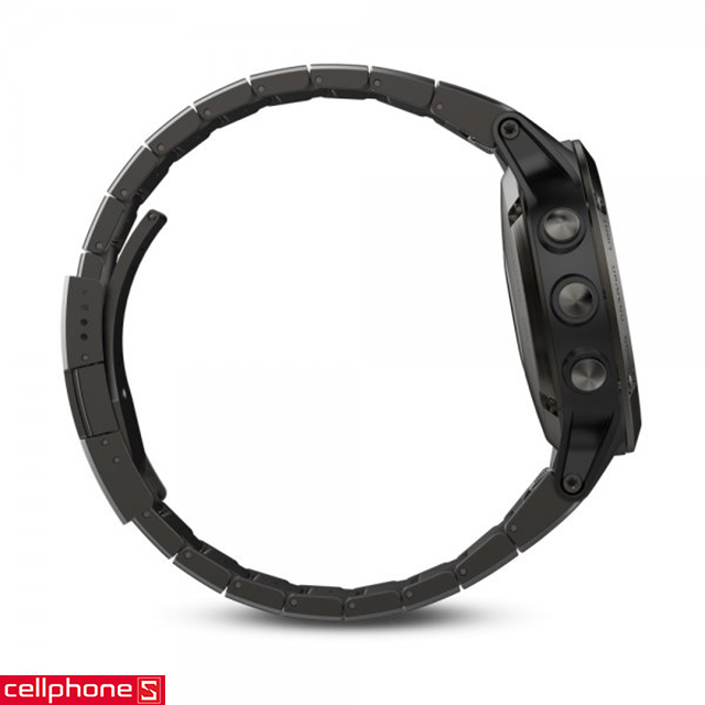 Dây đeo Garmin QuickFit 26 Stainless Steel Band