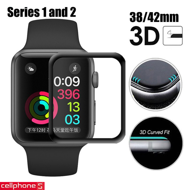 Đồng hồ thông minh Apple Watch Series 1 42 mm Space Gray Aluminum Case với Black Sport Band MP032