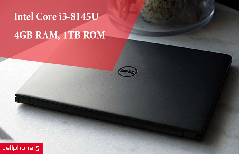 Intel Core i3-8145U, 4GB RAM, 1TB ROM