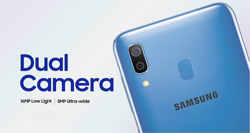 camera samsung galaxy a30