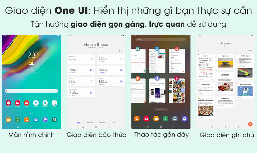 Nền tảng Android 9 Pie mới, giao diện riêng One UI